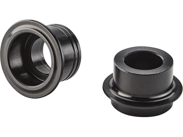 NEWMEN Road Endkappenset Ø12mm für Gen2 CL 21h Vorderradnaben black anodized